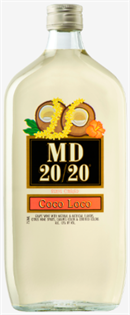 Mogen David Coco Loco 20/20 750ml - Case...